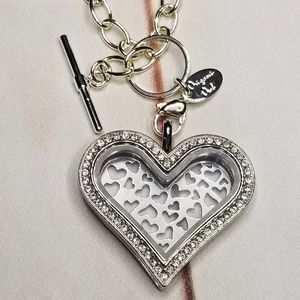 Origami Owl Heart Living Locket Limited Edition